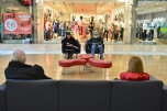 Westfield Shopping Centre, Derby, Strangers chilling out